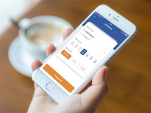 eTicketing Mobile interface